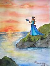 - Titania with the Blue Orchids -Odznak VEĽKÝ - 208273
