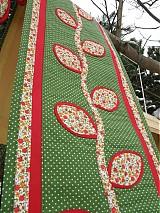 Úžitkový textil - Štóla- jesenné lístie...:) - 2087634
