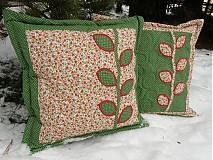 Úžitkový textil - Vankúše-jesenné lístie... - 2087640