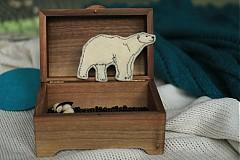 Odznaky/Brošne - Polárny medveď - 2087979