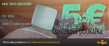 Darčekové poukážky - Darčeková poukážka - 2092277