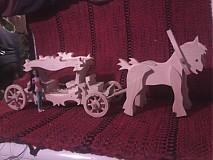 Hračky - Kráľovský koč s koníkmi - 2098166