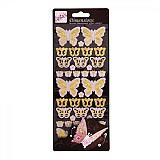 Papier - V zľave z 1,20€ Priestorové nálepky ľahučký motýlik - 2099594