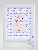 Rámiky - Detský rámik TOaTO 2 na foto 13x18 cm - 2113412