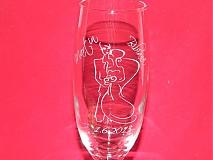 Nádoby - Svadobne poháre gravirovane 1 - 2121001
