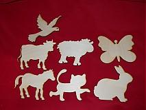 Polotovary - Vyrezavane zvieratka - 2123989