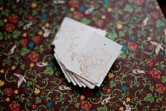 Papiernictvo - Visačky s ornamentom Vianoce - 2128706