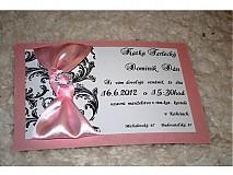 - Svadobné  oznámenie 025 - 2137270
