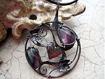 Náhrdelníky - Motýlí amulet  lásky IV. - 2138278
