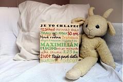 Detské doplnky - Pamätné drevo-Narodil sa chlapec - 2141846
