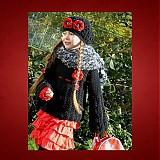 Detské súpravy - Komplet svetríka, baretky a bezprstových rukavíc - 214414