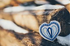 Darčeky pre svadobčanov - Levanduľové srdiečko 5 - 2152906
