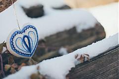 Darčeky pre svadobčanov - Levanduľové srdiečko 5 - 2152907