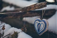 Darčeky pre svadobčanov - Levanduľové srdiečko 5 - 2152908