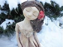 Dekorácie - zasněná růženka - 2163705