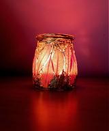Svietidlá a sviečky - Svietnik - jeseň - 2165812
