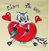 - Obliečka na vankúš na objednávku - Ľúbim Ťa ako kôň jablko:) - 2172197