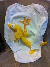 Hračky - Body žirafkové s hračkou - 2189947
