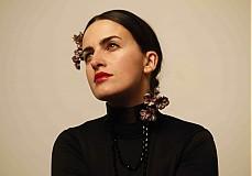 Ozdoby do vlasov - POPOL Z RUŽÍ - náhrdelník a čelenka by Hogo Fogo - 2198138