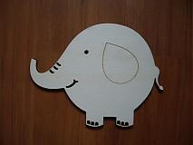Tabuľky - Tabuľka - sloník - 2199443