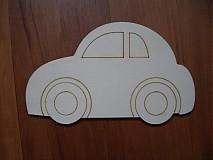 Tabuľky - Tabuľka - autíčko - 2199493