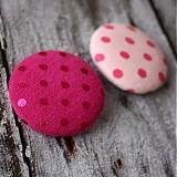 Materiál ručne robený - VÝPREDAJ !!! Roxy buttons38 mm - 2201624