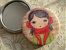 - Zrkadielko do kabelky pre pekné dievčinky  - 221126