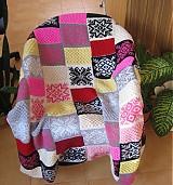 Úžitkový textil - Pletená deka - 221224