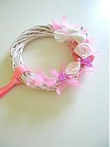 Svadba - svadobný veniec, ružový... - 2214987