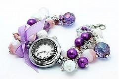 Kurzy - Perličkové hodinky - 2219949