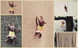 Náhrdelníky - gymnastka - 2228812