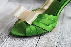 Obuv - Ozdoba na topánky - krémová - 2230988