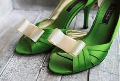 Obuv - Ozdoba na topánky - krémová - 2230989