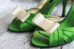 Obuv - Ozdoba na topánky - krémová - 2230990