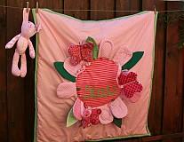 Textil - Kvetinka na hranie pre Dianku malinkú - 2231954
