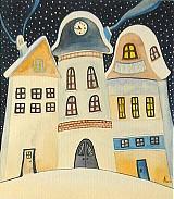 Kresby - Zimný večer - 2232232