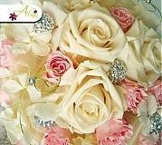 Kytice pre nevestu - Trvanlivá svadobná kytica - 2234020