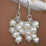 Náušnice - riečne perly - 2238063