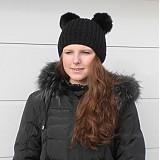 Čiapky - Kulich Mickey s kožešinovými oušky - 2239124