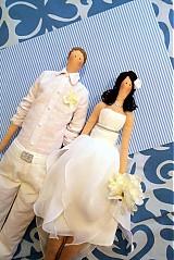 Dekorácie - svadobné Seychely - 2239724