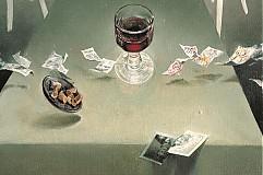 Obrazy - Rosalino nedopité červené víno - 2241723