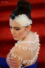 Ozdoby do vlasov - White Audrey by Hogo Fogo - 2252633