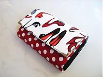 Peňaženky - Moje střevíčky..... 15 x 10,5 peněženka i na karty - 2256480