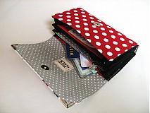 Peňaženky - Moje střevíčky..... 15 x 10,5 peněženka i na karty - 2256483