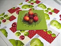 Úžitkový textil - Voní po jablíčkách - sada dvou ubrusů - 2256536