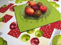 Úžitkový textil - Voní po jablíčkách - sada dvou ubrusů - 2256537