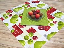 Úžitkový textil - Voní po jablíčkách - sada dvou ubrusů - 2256539
