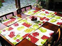 Úžitkový textil - Běhoun na stůl - Voní po jablíčkách - 2256574