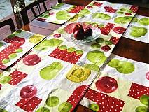Úžitkový textil - Běhoun na stůl - Voní po jablíčkách - 2256576