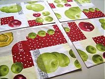 Úžitkový textil - Prostírání - Voní po jablíčkách - 2256588